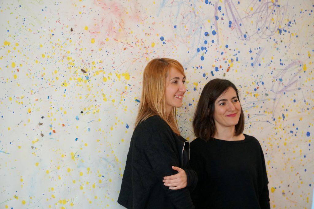 Dettaglio dell'Installazione di Daniela e Francesca Manca per Officinedellumbria2018, Palazzo Lucarini Contemporary, Trevi