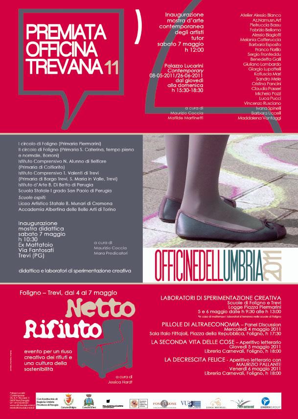 manifesto OFFFICINEDELLUMBRIA 2011